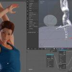 Создание модели человека с ригом для последующей работы в Blender