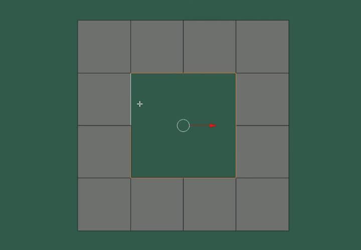 Как скруглить прямоугольное выделение в Blender (1)