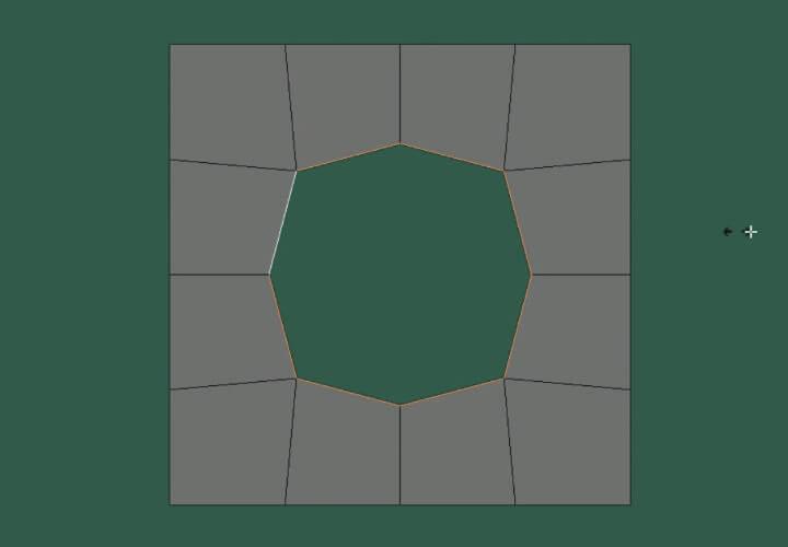 Как скруглить прямоугольное выделение в Blender (3)