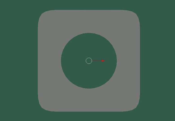 Как скруглить прямоугольное выделение в Blender (7)