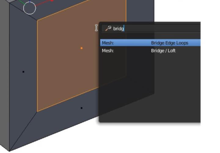 Поиск по F3 в Blender 2.8