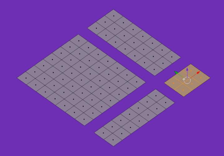 Как в Blender быстро выделять связанные грани, ребра или вершины (1)