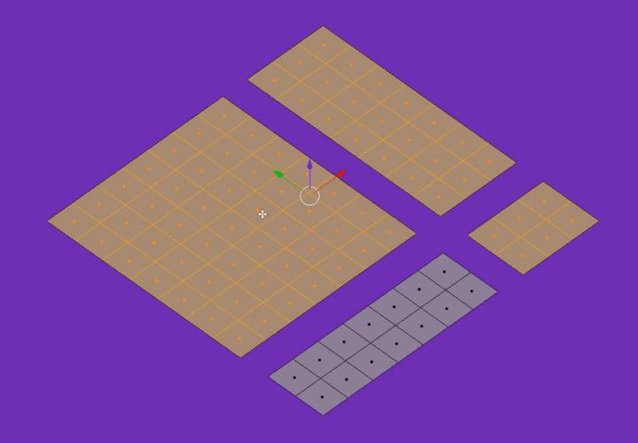 Как в Blender быстро выделять связанные грани, ребра или вершины (3)