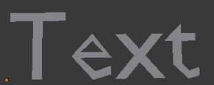 Работа с формой текста в Blender 2.5 (Preview U)