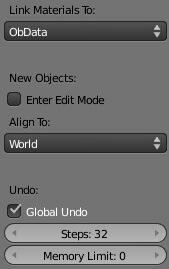 Настраиваем интерфейс Blender 2.5