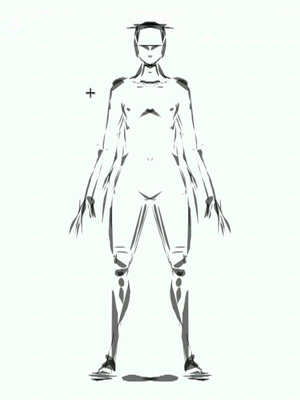 Накидаем общую структуру персонажа
