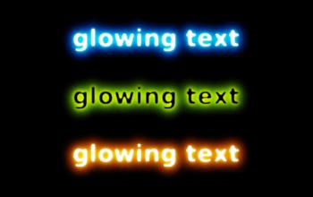 Урок по созданию светящегося текста в Gimp
