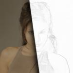 Карандашный рисунок из фотографии в Gimp