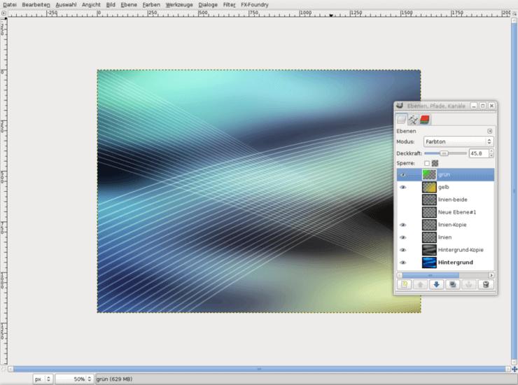 Дублируем фоновый слой и обесцвечиваем его, затем в качестве режима слоя выбираем Экран