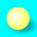3D шарик в Inkscape
