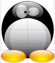 Создание объема при помощи радиального градиента в Inkscape