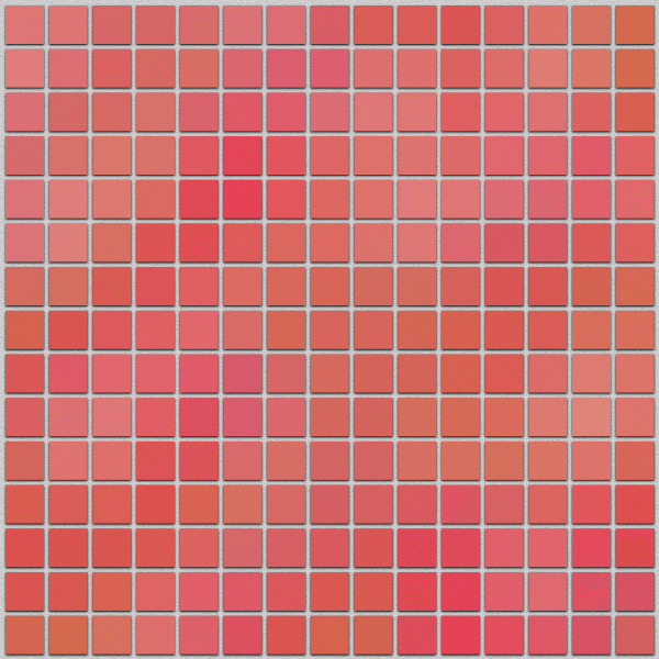Финальное изображение созданной в Inkscape цветной мозаики