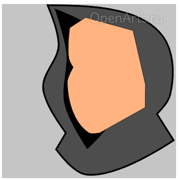 Скругление лица в Inkscape