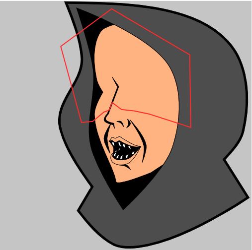 Форма для тени в Inkscape