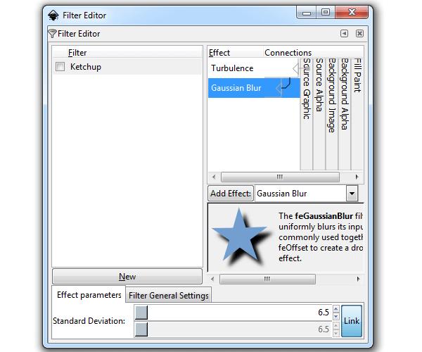 Гаусово размытие в Inkscape