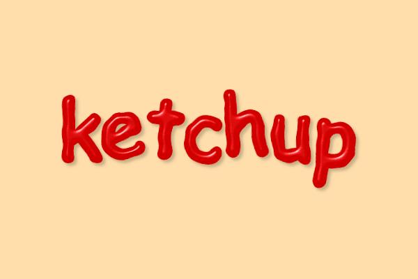 Применение эффекта кетчупа к тексту в Inkscape