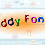 Детский шрифт в Inkscape