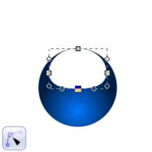 Преобразование круга в контур в Inkscape