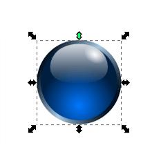 Трансформация с сохранением формы и симметрии в Inkscape
