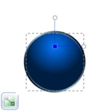 Перемещение узла радиального градиента в Inkscape
