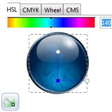 Эффект отсвечивания в Inkscape