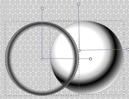 Заготовки для шара в Inkscape