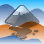 Рисование гор в Inkscape