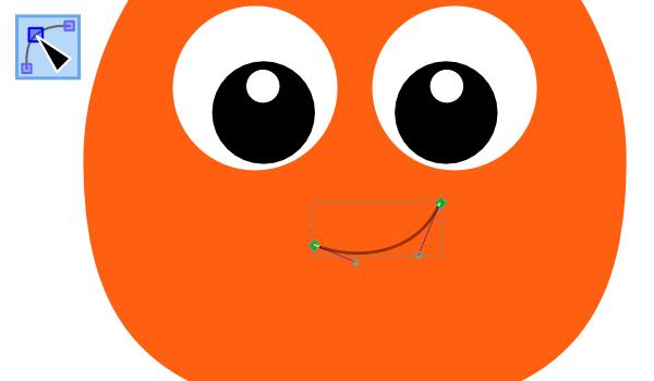 Рисование улыбки в Inkscape