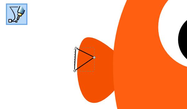 Рисование сегмента в Inkscape
