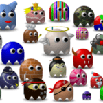 Создание персонажей игры Pac-Man в Inkscape