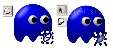 Создание второго блика в Inkscape