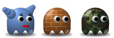 Эксперименты с формами при создании персонажа в Inkscape