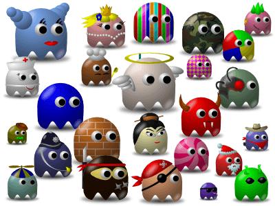 Создание разнообразных персонажей в Inkscape