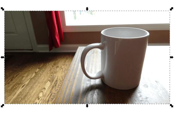 Импортирование фотографии в Inkscape