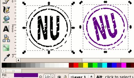 Упрощение фигуры в Inkscape