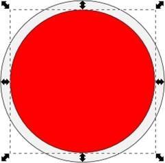 Изменяем цвет круга на серый