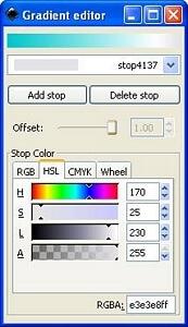 Назначаем цвет для третьей опорной точки внешнего круга