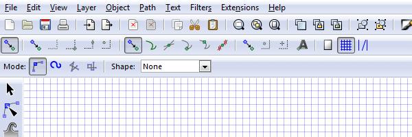Включение привязки к узлам сетки в Inkscape