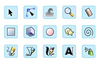 Библиотека символов в Inkscape