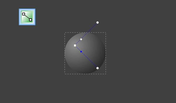 Создание радиального градиента на круге в Inkscape