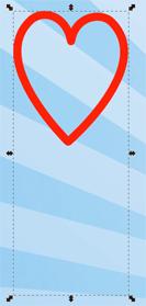 Объединение объектов в группу в Inkscape