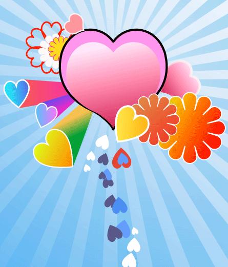 Рисование цветов в Inkscape