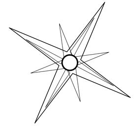 Вращаем треугольники