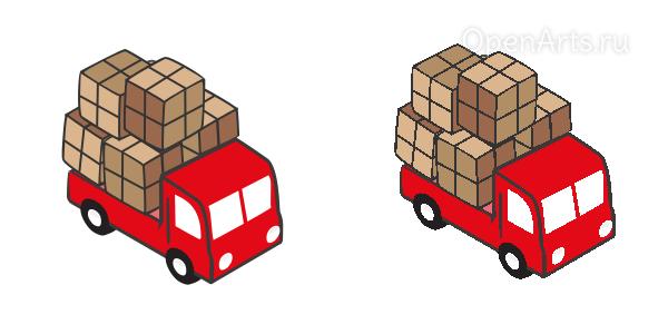 Сравнение оригинального векторного изображения и его пикселизированного в Inkscape варианта