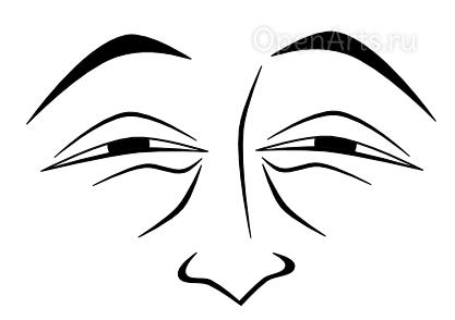 Рисуем нос в Inkscape