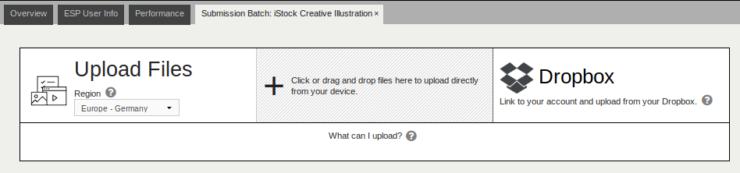 iStock - загрузка изображений