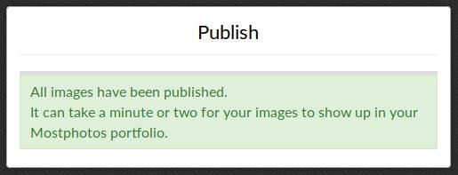 Mostphotos - успешная публикация изображений